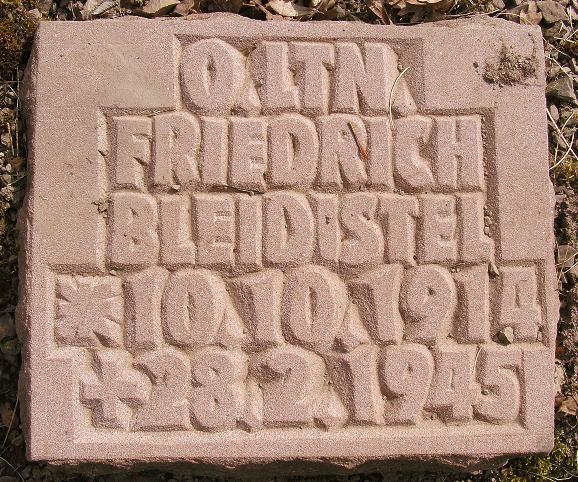 Friedrich Bleidistel