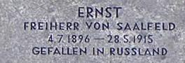 Ernst Friedrich Heinrich Paul Freiherr von Saalfeld